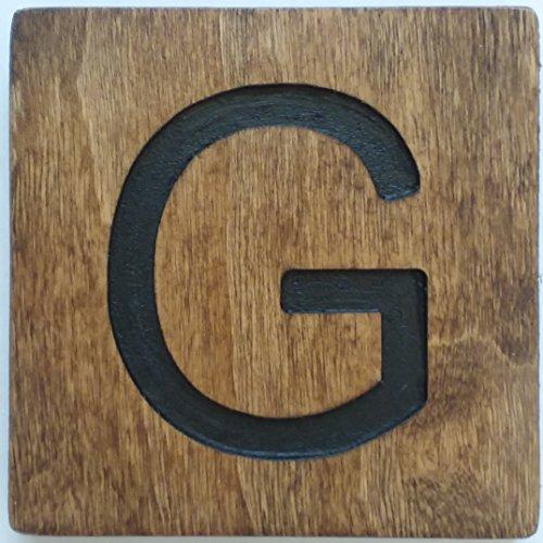LARON LLC Large Crossword Letter Tile (G, 5 X 5 Medium)