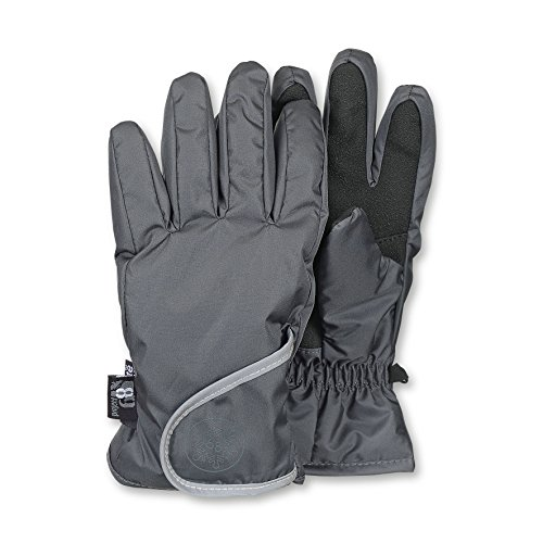 Sterntaler Jungen Fingerhandschuh Handschuhe, Grau (eisengrau 577), 3