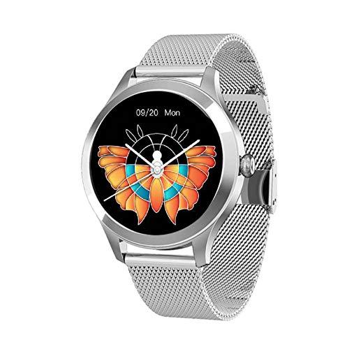 Intelligente Orologio For Donna, IP68 Impermeabile Con 1.09 Pollici Schermo Ultra Small Full Touch, Attività Tracker Pedometro, Sonno Cardiofrequenzimetro, For Android & IOS [progettato For Donne]