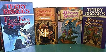 Sword of Shannara Trilogy + Prequel 4 Book set [Hardcover] First King of Shannara, Sword of Shannara, Wishsong of Shannara...