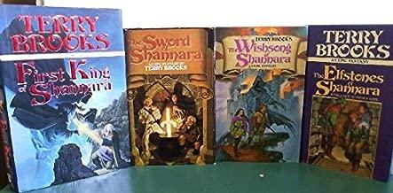 Sword of Shannara Trilogy + Prequel 4 Book set [Hardcover] First King of Shannara, Sword of Shannara, Wishsong of Shannara, and Elfstones of Shannara