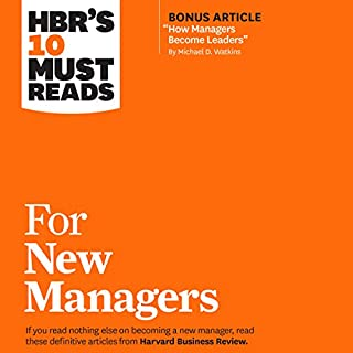 HBR's 10 Must Reads for New Managers cover art