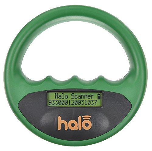 Halo Pet Microchip Reader Scanner, Green