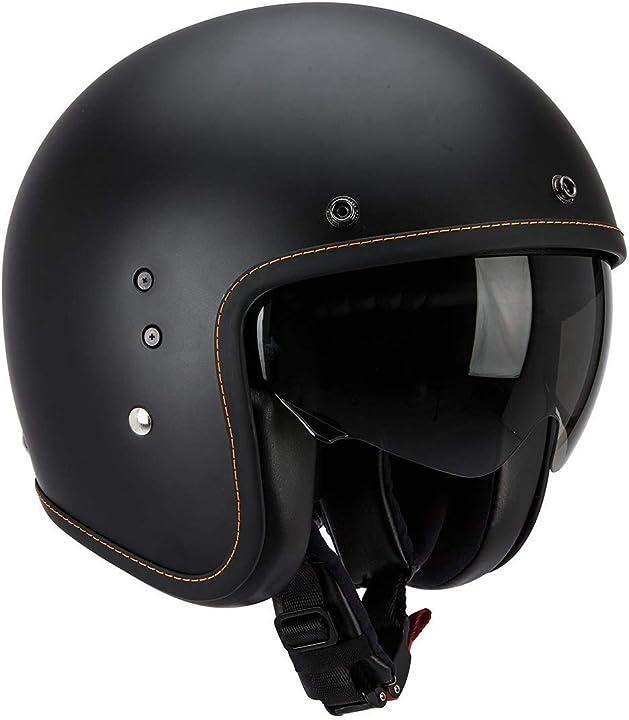 Scorpion casco moto belfast solid nero opaco 81-100-10-05