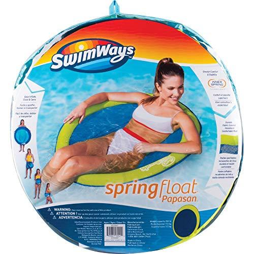 SwimWays 6045229 Spring Float Papasan, Wasserhängematte, farblich sortiert