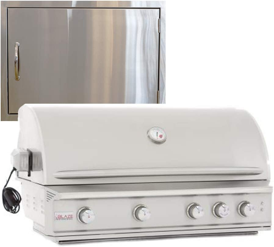 Manufacturer direct delivery Blaze Grills Professional 44-Inch 4 Burner and Grill Gas 5 ☆ popular Natural