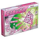 Geomag - Classic 342 Pink, Constructions Magnétiques et Jeux Educatifs, GM105, Multicolore, 68 Pièces
