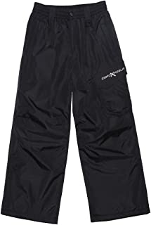 ZeroXposur Boys Platinum Snow Pants - Skiing Snowboarding Water Resistant Trousers