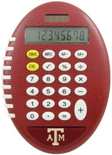 NCAA Texas Ranking TOP1 AM Aggies Calculator Team Pro-Grip One Max 85% OFF Color Style