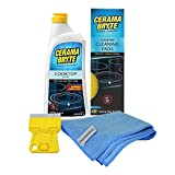 Best Glass Cooktop Cleaners - Cerama Bryte Cooktop Cleaning Supplies Bundle - Includes:18 Review