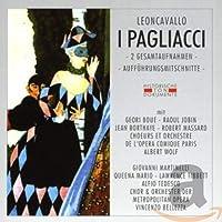 I Pagliacci -2 Gesamtaufnahmen- (Auffuhrungsmitschnitte)