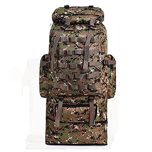 100L GRANDE Escursionismo Camping Backpacks Camouflage Zaino Bag tattico militare per gli uomini Donne Arrampicata all'aperto Khaki Other