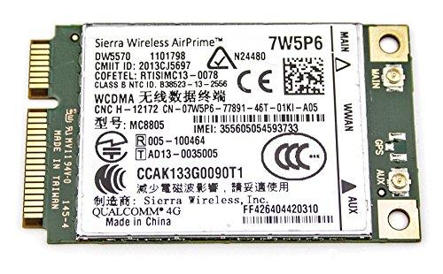 Dell Wireless 5570 7W5P6 4G bis 48Mgbit, Mobile für Dell Precision M4800