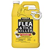 Harris Flea and Tick Killer, Liquid Spray with Odorless and...