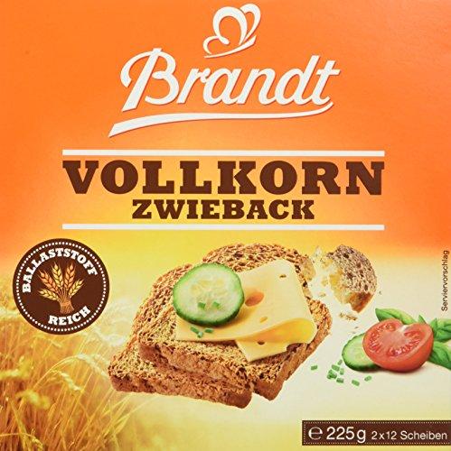 Brandt Vollkorn-Zwieback, 225 g Packung