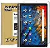 ivoler Panzerglas Schutzfolie für Lenovo Yoga Smart Tab 10.1 Zoll, Panzerglasfolie Folie Bildschirmschutzfolie Hartglas Gehärtetem Glas BildschirmPanzerglas Bildschirmschutz