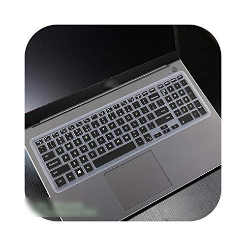 Teclado para teclado Dell Inspiron 15 3000 3580 3583 3584 3585 3582 3590 G3 3573 3576 3578 3579 15.6 pulgadas cubierta teclado – negro