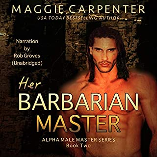 Her Barbarian Master audiobook cover art