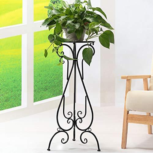 FEI Fleur Racks Style Européen Fleur Cadre Style Balcon Fleur Pot Pot Rack Intérieur Salle De Séjour Fleur Rack,Noir 100cm