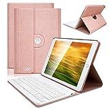 COO Housse Clavier AZERTY iPad Mini 4 Bluetooth, Clavier Français Etui Coque ipad en Cuir PU Auto...