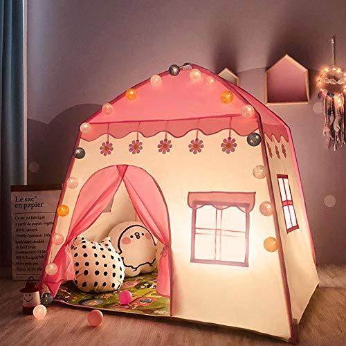 greatdaily Kinderzelthaus Innenspielzeughauszelt Für Kleinkind/Junge/Mädchen, Prinzessinspielzeughaus Jungen-Spielhaus-kleines Haus - 130 95 130cm