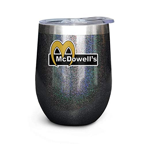 12 OZ Stainless Steel Tumbler Coffee Cup Not Fragile Heat Preservation Thermos Mug Coming-To-America-Movie-2-McDowell's- Camp Cup