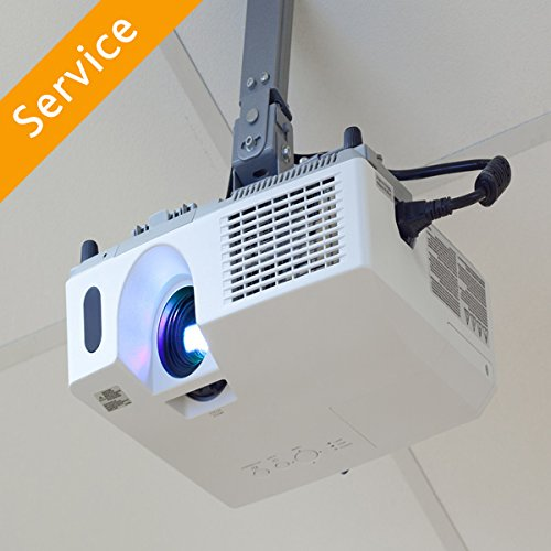 Installation of Home Media Projector on a Hard Ceiling
