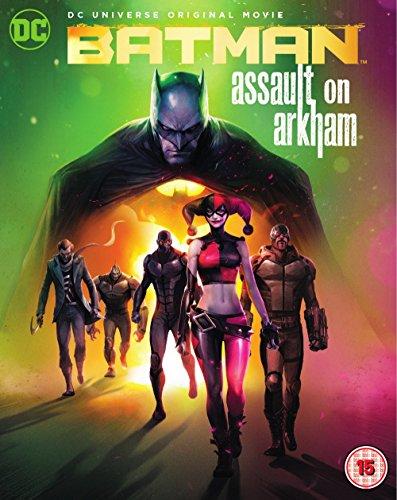 Batman: Assault On Arkham (2 Blu-Ray) [Edizione: Regno Unito] [Reino Unido] [Blu-ray]