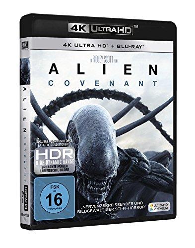 Alien: Covenant (4K Ultra-HD) (+ Blu-ray)