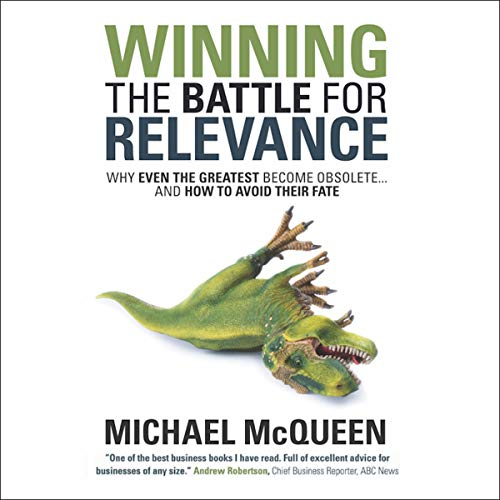 Winning the Battle for Relevance audiobook cover art