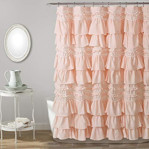 Lush Decor, Blush Kemmy Shower Curtain, 72