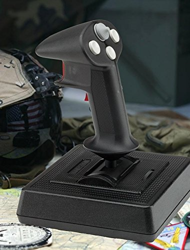 200-503 CH Products Flightstick Pro USB 4-Button Joystick 8-Way Hatswitch