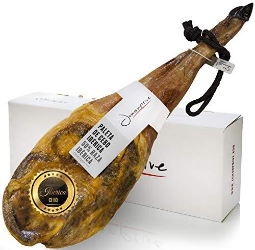 Prosciutto Spagnolo Pata Negra ibérico (Spalla) 4 - 4.5 Kg - Jamon Iberico (Paleta Cebo)