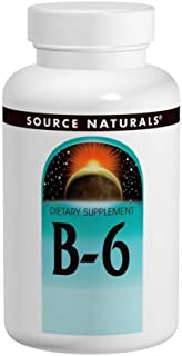 Vitamin B-6 500mg Timed Release Source Naturals, Inc. 50 Sustained Release Tablet