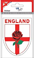 England George Cross Rose Shield Sticker