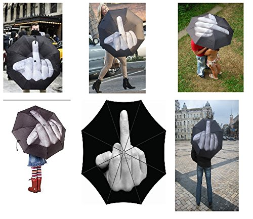Middle Finger Umbrella up Yours Regenschirm/Regenschirm Ella Ella