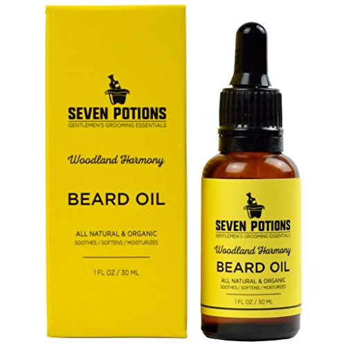 Beard Oil 1 fl oz by Seven Potions. Sweet and...