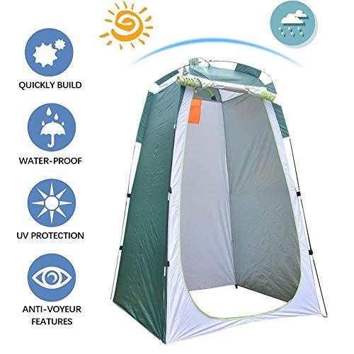Yunhigh-uk Camping Duschzelt Pop Up, tragbares Privacy WC Zelt, außerhalb Umkleidekabine für Strand, Reisen, Wandern, Outdoor