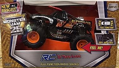 Monster Jam New Bright 1:15 Scale RC El Toro Loco Black Edition Truck