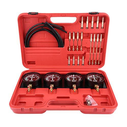 Tragbarer Kraftstoff-Vakuum-Vergaser Synchronizer Universal-Auto-Sync-Messgerät 4-Messgeräte-Werkzeug-Balancer-Gauge-Kit Motorcyle FuelTech