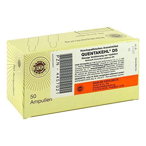 QUENTAKEHL D 5 Ampullen 50X1 ml