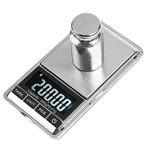 KKmoon 5000gram / 1gram Elettronico Digitale Bilancia Cucina Cibo Parcel Bilancia La Ciotola Display LCD Retroilluminazione...