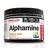 PEScience Alphamine, Tropical Twist, 60 Scoops, Versatile Thermogenic Energy Powder