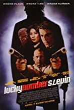 Lucky Number Slevin Movie Poster (27 x 40 Inches - 69cm x 102cm) (2006) -(Josh Hartnett)(Bruce Willis)(Stanley Tucci)(Morgan Freeman)(Ben Kingsley)(Lucy Liu)