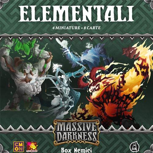 Asmodee Italia- Massive Darknness Elementelle Ausdehnungsspiele mit tollen Miniaturen, Color, MD004IT