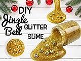 Diy Jingle Bell Glitter Slime
