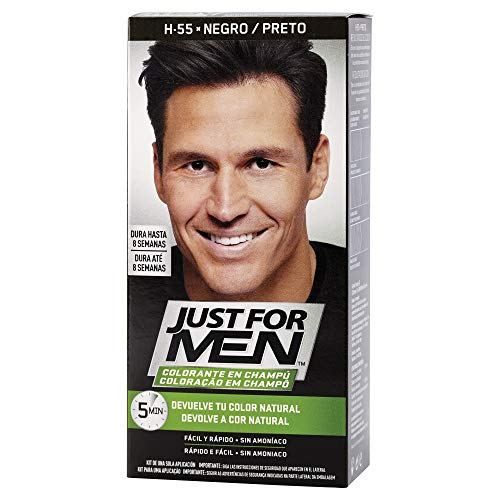 Just For Men, Tinte Colorante en champu para el cabello del