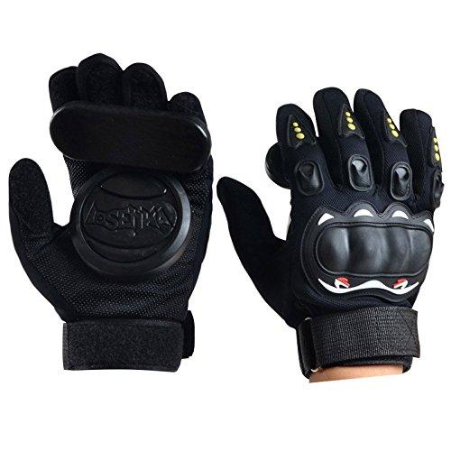 Beautyrain Skateboard Handschuhe Protektor Armschutz Dickere Foam Downhill Freeride Slide Sliding Schutz Palm Slider Safety Guard Gemütlich