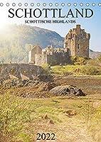Schottland -Schottische Highlands (Tischkalender 2022 DIN A5 hoch): Dieser wunderbare Kalender nimmt Sie mit auf einen Trip durch die beeindruckenden Schottischen Highlands. (Monatskalender, 14 Seiten )
