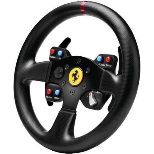 Thrustmaster Ferrari GTE Wheel Add-On, Replica Rimuovibile del Volante FERRARI 458 CHALLENGE, per PC/Xbox/Playstation